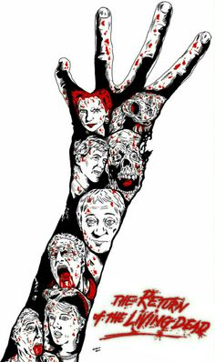 The Return of the living dead Horror Movie Zombies