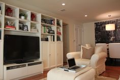 Billy Bookcases and TV unit