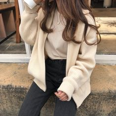 - cloudy𝕩heart uploaded by 𝓶𝓪𝓻𝓲𝓪𝓷𝓪 on We Heart It korean fashion Korean Girl Fashion, Ulzzang Fashion, Asian Fashion, Look Fashion, 70s Fashion, Skater Fashion, Fashion Mask, Young Fashion, India Fashion