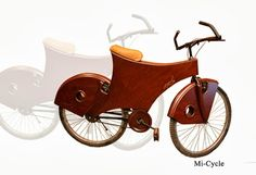 A man who thinks out-of-the-box, Asad extends his repertoire to designing the 'Mi-cycle' — an eco-friendly mode of transportation — to grab the attention of the youth in this age of motorization and modernization.
