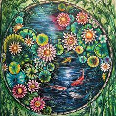 #magicaljungle #magicaljunglecoloringbook #johannabasfordmagicaljungle #johannabasford