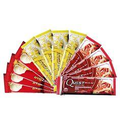 Quest Nutrition- Quest Bar Pie Medley Variety Bundle: 4 Apple Pie, 4 Strawberry…