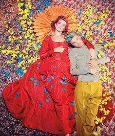 A Glittery, Technicolor Fashion Homage to the Cockettes