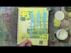 Roll the Dice Art Journaling - Create Mixed Media