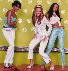 Destiny's Child...I used to have this picture on my wall as a child :)