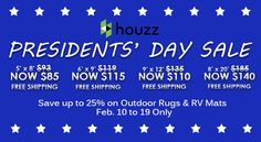 Presidents Day Sale, Rv Living, Outdoor Area Rugs, Houzz, Photos, Pictures, Photographs, Cake Smash Pictures