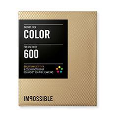 Impossible - 2934 - Edition Limitée - pellicule couleur pour Appareil Polaroid type P600 - cadre doré - 8 feuilles par boîte Impossible http://www.amazon.fr/dp/B00G7HUFDM/ref=cm_sw_r_pi_dp_VFMVvb1KNGFK0