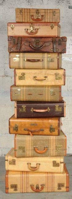 Sweet Stack of Suitcases!