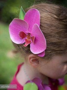 DIY Merveilleuses orchidées de papier