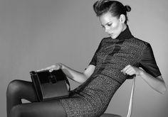 Freja Beha Erichsen is Minimal Glam for Hugo by Hugo Boss Fall 2012 Campaign