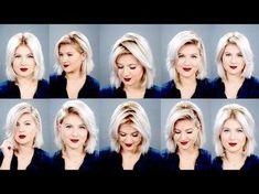 10+Ways+To+Part+Your+Hair+ +Milabu