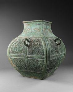 Trésors de la Chine ancienne : Les bronzes rituels de la collection Meiyintang (c) Photo Vincent Girier-Dufournier http://www.offi.fr/expositions-musees/musee-guimet-2426/tresors-de-la-chine-ancienne-48374.html