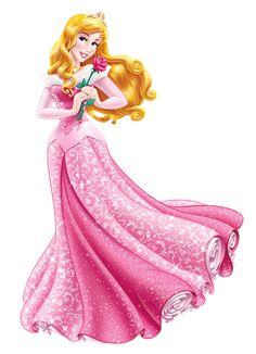 Princess Aurora PNG Cartoon Image