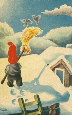 Kjell Aukrust Dahl, Elves, Gnomes, Norway, Folk, Auction, Birds, Manga, Postcards