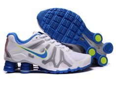 414b83c7b16d45 Here is the best destination to buy high quality and cheap Nike Air Shox  Womens Turbo + 13 Xiii White Blue online