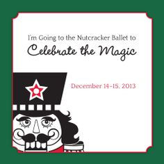 Celebrate the Magic of the Ballet! Nutcracker Ballet at Lied Center for Performing Arts - Lincoln, Nebraska -  December 14 & 15.  www.LincolnMidwestBallet.com