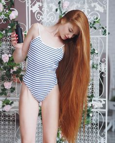 A real life Rapunzel has revealed that she has not always had these stunning flowing locks after admitting she used to suffer from the debilitating condition alopecia. Anastasiya Sidorova now boasts enviable locks at the age of 23 but has recently told how she suffered from baldness from the ag