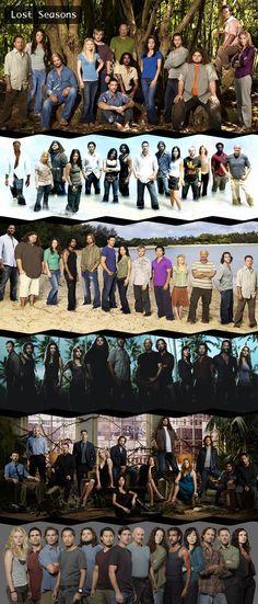 Six seasons of LOST
