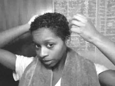 Cowashing = Mahogany Curls... love her.This video was filmed in 2009....