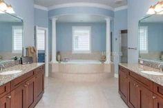 The bathroom area to a beautiful home being sold by our agent Marla Adams. If interested feel free to call 813-569-6294!
