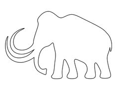 Free Animal Patterns for Crafts, Stencils, and Outline Drawings, Easy Drawings, Archaeology For Kids, Cute Monsters Drawings, Stone Age Art, Animal Templates, History Projects, Classroom Crafts, Classroom Inspiration