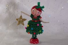 Christmas Clothespin Doll | Flickr - Photo Sharing!