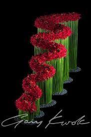 New Flowers Arrangements Red Colour 32 Ideas Contemporary Flower Arrangements, Unique Flower Arrangements, Unique Flowers, Flower Centerpieces, Fresh Flowers, Flower Decorations, Lotus Flowers, Most Beautiful Flowers, Arte Floral