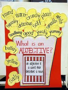 Popcorn Adjective
