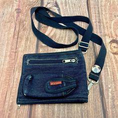 Denim Bag, Card Holder, Handbags, Pocket, Zip, Accessories, Clothes, Vintage, Shoes