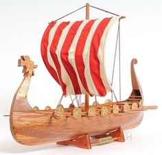Drakkar Viking Model Boat B-028 25""