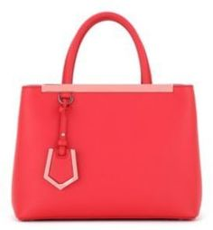 Fendi 2Jours Small Leather Shopper