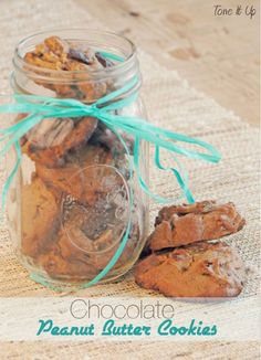 Tone It Up approved Chocolate Peanut Butter Cookies!