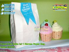 Towel Cup Cake Isi 1 Kemas Paper Bag WA/SMS/TELP: 0857-4384-2114 atau 0819-0403-4240 #towelcupcake #towelcupcakemurah #towelcupcakeunik #towelcupcakegrosir #grosirtowelcupcakemurah #souvenirtowelcupcake #souvenirpernikahantowelcupcake #souvenirtowelcupcakemurah #jualtowelcupcake #jualsouvenirtowelcupcake  #TowelCup #TokoCup #souvenirMurah