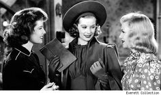 One of my favorite movies as a kid. Stage Door, 1937.  K.Hepburn, Lucille Ball, and Ginger Rogers