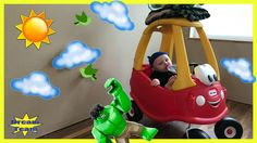 Careless Bad Baby Crushes Hulk Under The Little Tikes Car, Doc McStuffin...