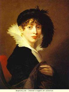 Portrait of Countess Sophia Stroganoff, Mosnier, 1808