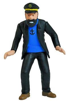 Moulinsart Tintin: Captain Haddock 9cm PVC Figure See more at http://www.squidoo.com/tintin-herge#module167033203