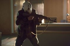 "Bank robber 'Ace' in 'Arrow'. Season 1 Episode 6 ""Legacies"""
