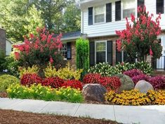 Small Flowering Trees Front Yards. Small flowering trees are perfect ingredients for landscaping. They put brilliant colors right to your eyes. Changes in season definitely make flowering trees the focal point of landscaping.