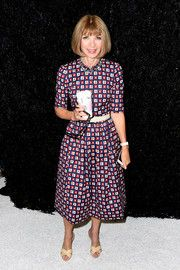 Anna Wintour Print Dress
