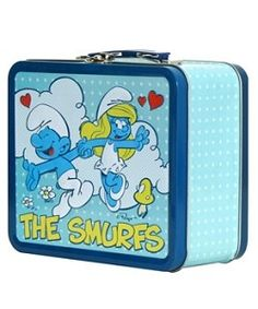 THE SMURFS LUNCH BOX