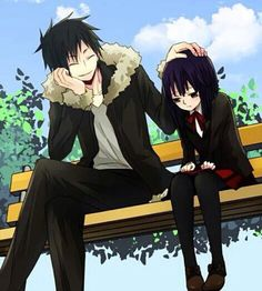 Izaya and Akane - Durarara!!