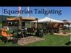A Day In The Field, The Creation of a Luxury Tailgate - YouTube