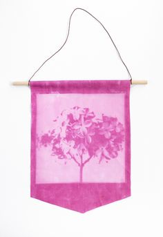 Learn how to print your own fabric with sunlight + inkodye!