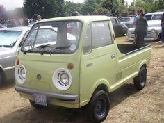 Mazda 1971 E360 Small Trucks, Mini Trucks, Mazda Cars, Daihatsu, Japanese Cars, All Cars, Vintage Cars, Classic Cars, Automobile