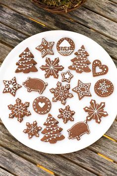 Christmas Sweets, Christmas Cooking, Christmas Decorations, Merry Christmas And Happy New Year, Christmas Time, Xmas, Christmas Challenge, Cookie Decorating, Royal Icing