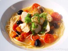 Minestronesuppe med torsk og basilikumpesto | TRINEs MATblogg