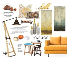 """Welcome Fall"" by katarina-blagojevic ❤ liked on Polyvore featuring interior, interiors, interior design, home, home decor, interior decorating, Gus* Modern, Ballard Designs, KARE and Pacific Coast"