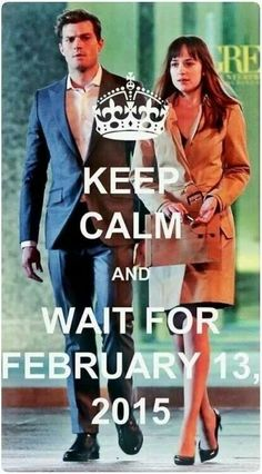 I have no choice but to wait till next February 13th...the 'keep calm' part i can't promise! #hurryup lol