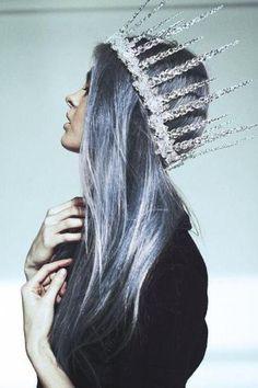 Pastel blue.